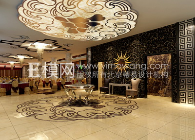Chinese Banquet Hall Hotel,3D models