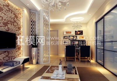 Light colored modern style living room 3d model download for Model couleur salon
