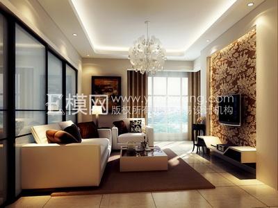 light colored bedroom furniture on light colored modern style living room 2 3d model download free - Model Salon Moderne