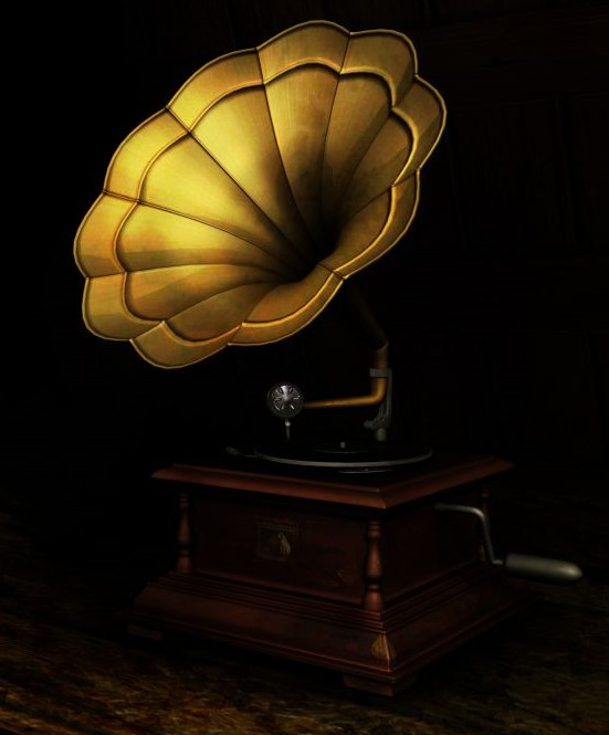 Honest Gramophone 3d Model Download Free 3d Models Download