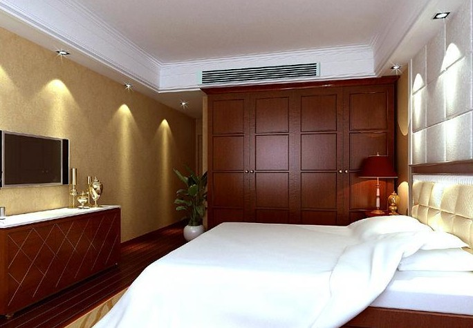 Luxury Hotel Rooms,3D models