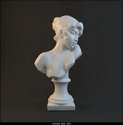 Model of the statue of characters,3D models