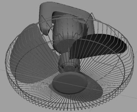 Elektrikli fan, 3 boyutlu modeller
