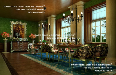 Luxury European-style restaurant