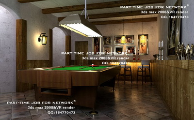 A Small Bar Billiards Table 3d Model Download Free 3d