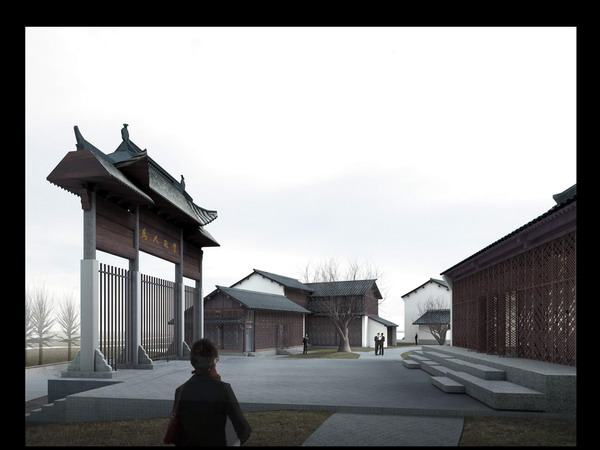 Of chinese buildings 3d model download free 3d models download for Mobel 3d download