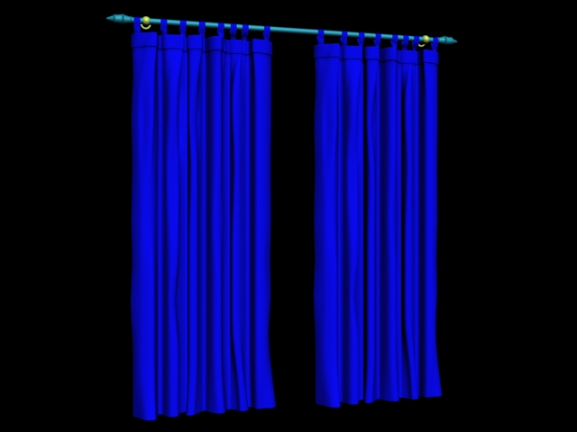Rome Curtain 3D Model DownloadFree 3D Models Download