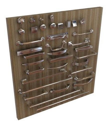 A Full Set Of Door Handles 3d Model Download Free 3d