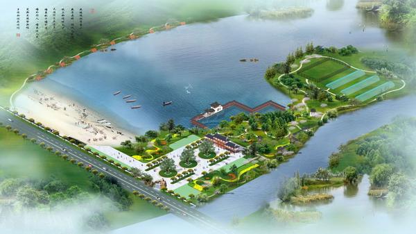 Agro-ecological tourism park model 3D Model Download,Free 3D