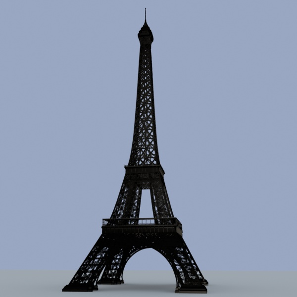 Eiffel Tower 3d Model Download Free 3d Models Download