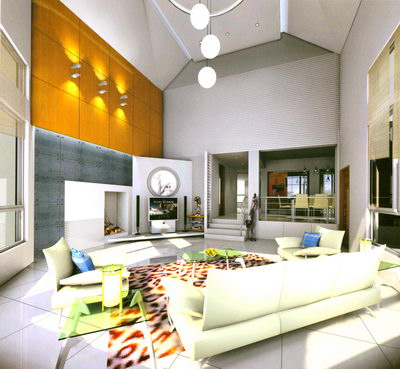 keywords:living room,3d model,free download,include materials,decoration ,double-deck,villa,luxury,interior scene design,bright