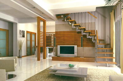 Staircase Designs on Stairs In A Minimalism House 3d Model Download Free 3d Models Download
