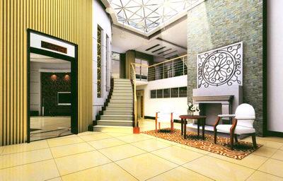 Entrance area in a villa 3D Model Download,Free 3D Models Download