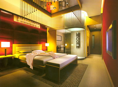 Separate Room of Spa Saloon or Hotel