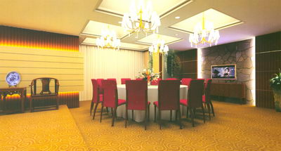 Restaurant Design_Chineseness Room