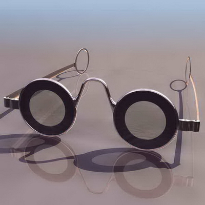Medical Glasses 3ds max Model Download Free
