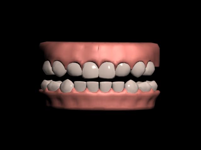 Teeth 3ds Max Model 3d Model Download Free 3d Models Download