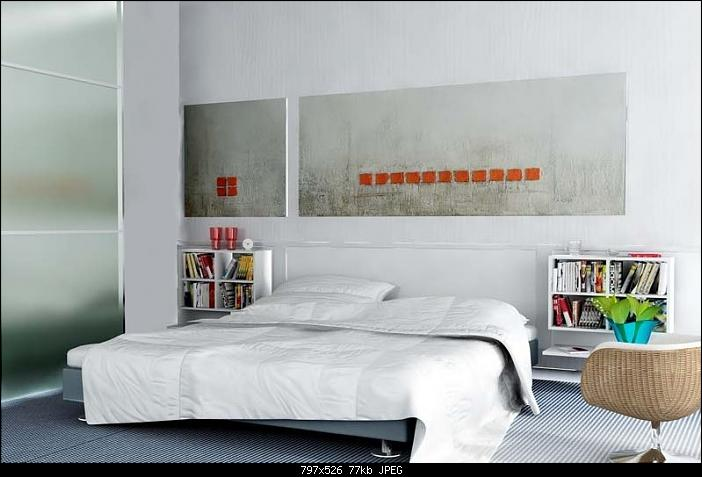 Simple Style Bedroom Design: Pure White
