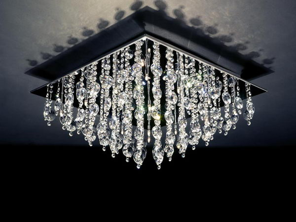 Deluxe Crystal Pendant Lamp