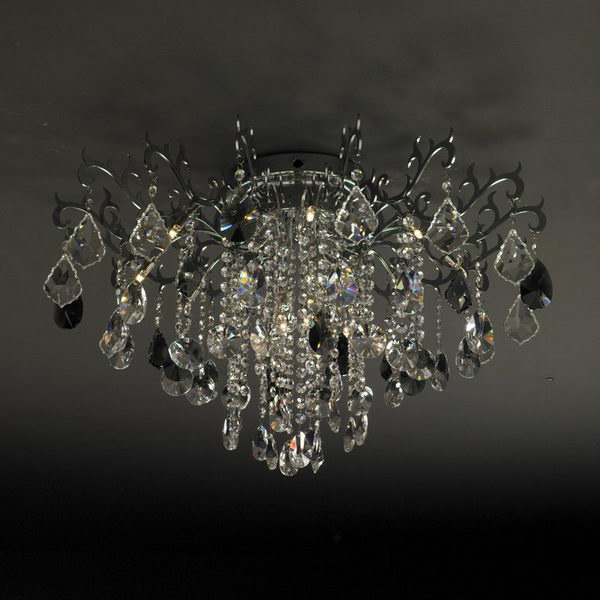 Modern Style Luxury Crystal Pendant Lamp 3D Model Download,Free 3D ...