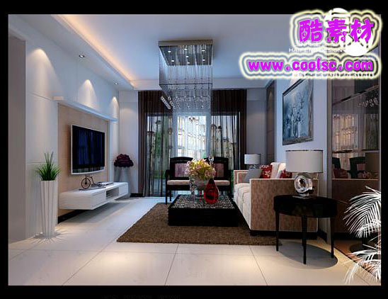 Modern Style Living Room£ºCombination of Modern and Classical