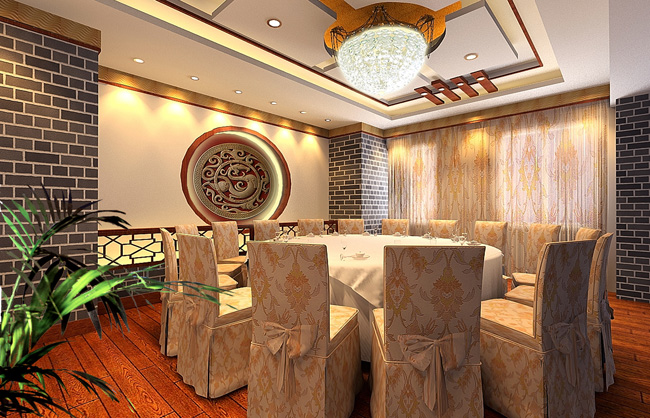 Luxury Chinese Restaurant Separate Room