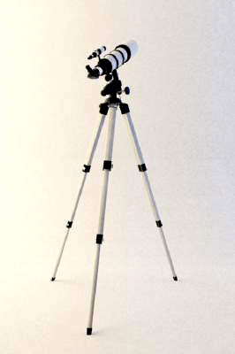 Astronomical Telescope Model