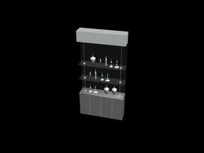 Glass Display Cabinet Collection