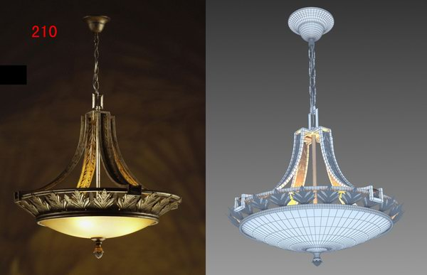 Outdoor Wall Lamps/Pendant Lamps 3D Model Download,Free 3D Models Download