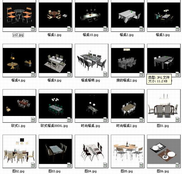 Collection Of Dinner Table 3d Model Download Free 3d