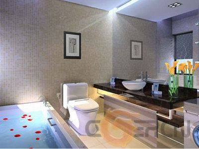 Minimalism Bathroom Design 3d Model Download Free 3d