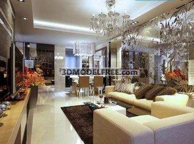 Modern Design Living Room on Design  Villa  Residence  Apartment  Townhouse  House    Modern Style