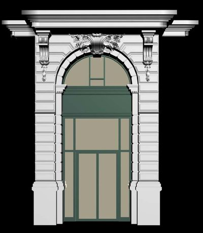 Dutch style architecture demo windows and doors 3d for Windows 8 architecture