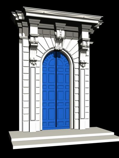 Vatican style architecture demo windows and doors 3d for Architecture keywords