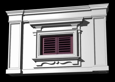 Terrific Italian Style Architecture Demo Windows And Doors O 3D Model Largest Home Design Picture Inspirations Pitcheantrous