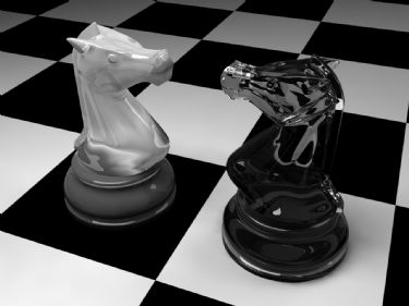 Chessman Knight Chess 3Ds Max Model Download Free
