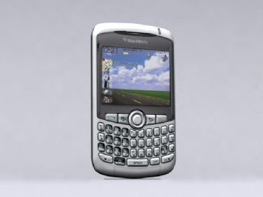 Blackberry 8310 3d Model