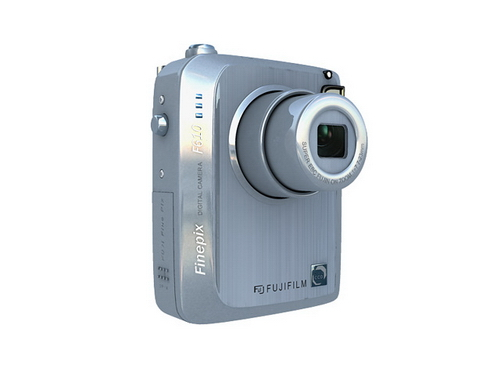 Fashion FUJIFLIM Digital Camera 3DS MAX Model Download Free