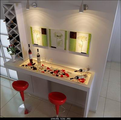 keywords home bar art wall home decor 3ds max model download free - Home Bar Decor