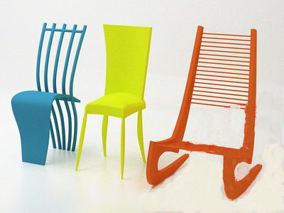 Alternative Furnitune£º Bright-colored Chair