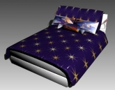 Double Bed Design Series G: Starry Sky