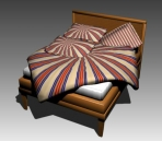 Double Bed Design Series F