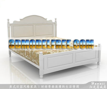 American Country Style Bedroom Furniture