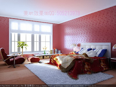 Modern Home Decor A: Pink Bedroom