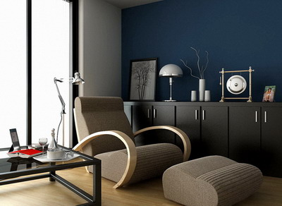 Modern Home Decor C Lounge Area 3D Model DownloadFree