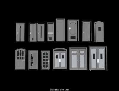 Room Doors 14Models