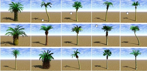 Garden Landscape 3dsmax Models Trees 3d Model Download