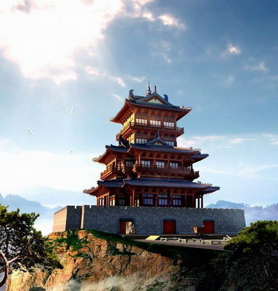 Chinese Traditional Architecture Series: Tower Castle