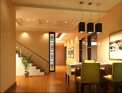 Residential Design Comfortable Home Dining Room Design 3d