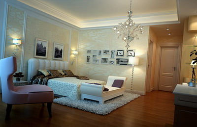 interior design elegant bedroom 3ds max model 3d model download free